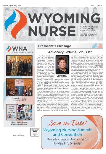 Wyoming Nurse - March 2018