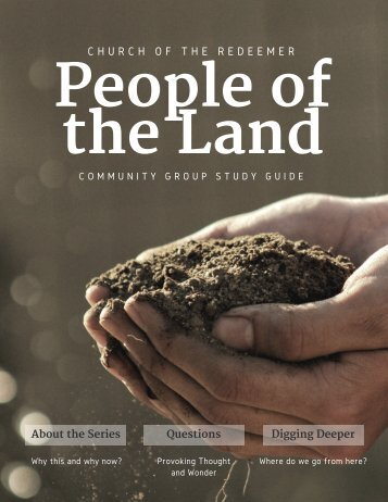 People of the Land sermon guide
