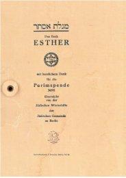 Ester Rollenbuch Variante von rechts