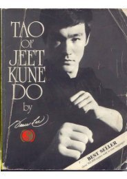Tao of Jeet Kune Do - Bruce Lee