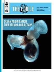 OCean aCidiFiCaTiOn ThreaTening Our OCeanS - Pacific Marine ...