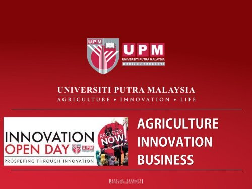 UPM Agriculture Technology to Commercialise