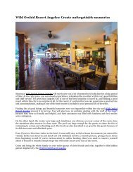 Wild Orchid Resort Angeles: Create unforgettable memories