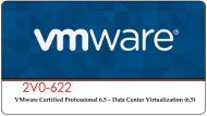 VMware 2V0-622 Exam Dumps