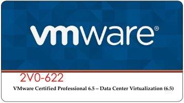 VMware 2V0-622 Exam Dumps