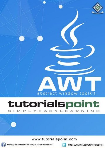 AWT Tutorialspoint Simply Esay Learning