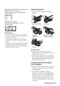Sony HDR-AX2000E - HDR-AX2000E Consignes d'utilisation Croate - Page 5