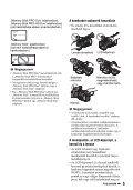 Sony HDR-AX2000E - HDR-AX2000E Mode d'emploi Hongrois - Page 5