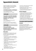 Sony HDR-AX2000E - HDR-AX2000E Consignes d'utilisation Hongrois - Page 2