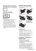 Sony HDR-AX2000E - HDR-AX2000E Consignes d'utilisation Hongrois - Page 5