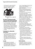 Sony HDR-AX2000E - HDR-AX2000E Consignes d'utilisation Hongrois - Page 6