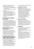 Sony HDR-AX2000E - HDR-AX2000E Consignes d'utilisation Hongrois - Page 7