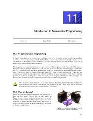 Introduction to Servomotor Programming - Basic X