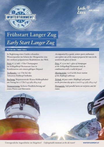 Frühstart_Langer Zug