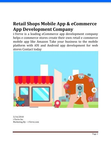Why Mobile App Development for Ecommerce Store