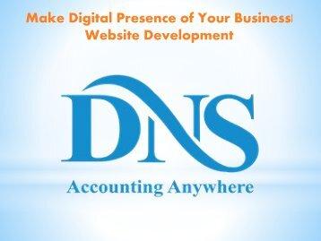 Make Digital Presence of Your Business Website Development