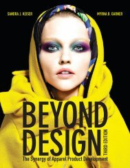 The Synergy of Apparel Product Development - Fairchild Books