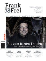 Leseprobe Magazin Frank&Frei 05/2018