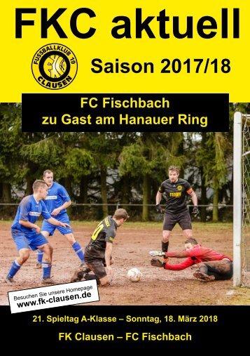 FKC Aktuell - 21. Spieltag - Saison 2017/2018