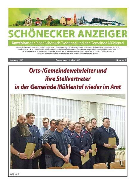 Schönecker Anzeiger März 2018