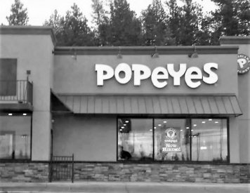 Popeyes Louisiana Kitchen 2.1 miles to the east of Post Falls general dentist Woodland Family Dental