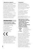 Sony HDR-PJ410 - HDR-PJ410 Consignes d'utilisation Letton - Page 4