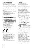 Sony HDR-PJ410 - HDR-PJ410 Consignes d'utilisation Slovénien - Page 4