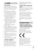 Sony FDR-AXP33 - FDR-AXP33 Consignes d'utilisation Slovénien - Page 7