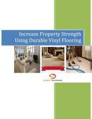 Increase Property Strength Using Durable Vinyl Flooring