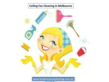 CeilingFan Cleaning in Melbourne