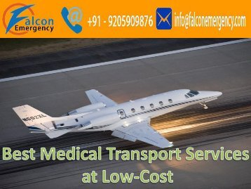 Chennai to Mumbai Medical Care Air Ambulance Emergency Services