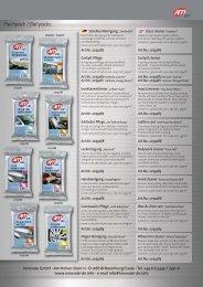 Flachpack / flat packs: