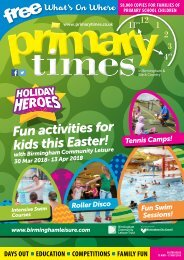 Birmingham and Black Country Easter 18 magazine