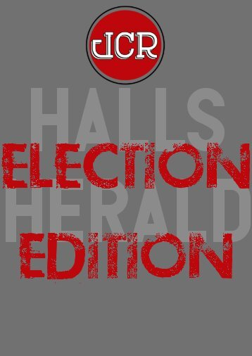 Halls Herald: ELECTION EDITION