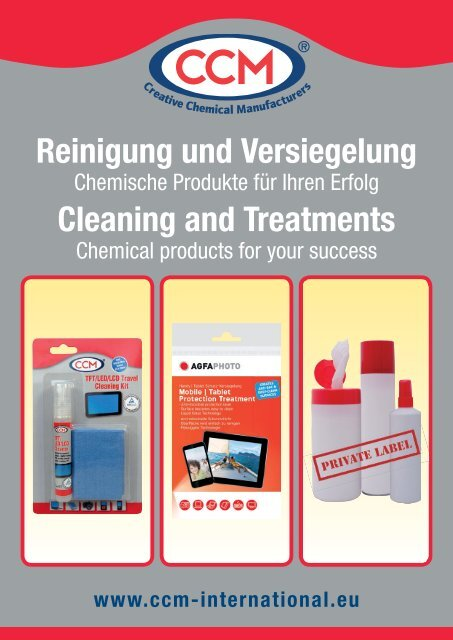 Download - CCM GmbH - Creative Chemical Manufacturers