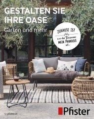 Pfister Gartenbooklet 2018