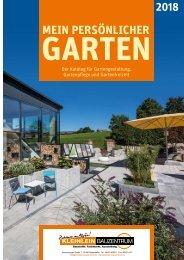 Gartenkatalog 2018 - Kleinlein Bauzentrum