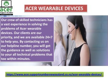 Acer wearable devices NZ - 098015144