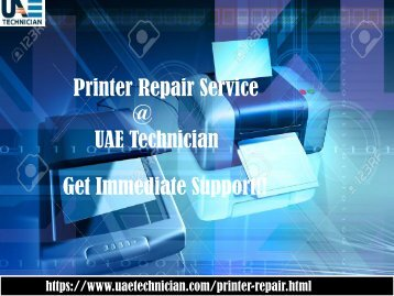 Printer Repair Service Contact us +971-523252808