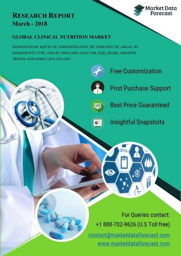 Clinical Nutrition Market Research Reports 2016-2021