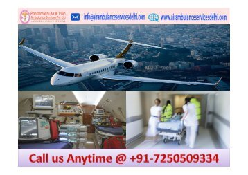 Cheap and Best Air Ambulance Service in Kolkata with Doctors