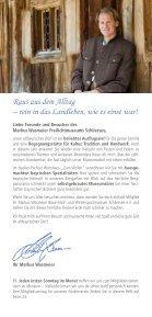 Veranstaltungskalender 2018 Markus Wasmeier Freilichtmuseum Schliersee - Seite 2