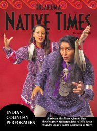 iNDiAN COUNtRy PERFORMERS - Barbara McAlister