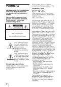 Sony VPL-DS100 - VPL-DS100 Consignes d'utilisation Slovaque - Page 2