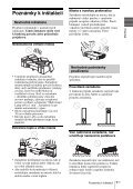 Sony VPL-DS100 - VPL-DS100 Consignes d'utilisation Slovaque - Page 7