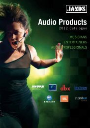 Audio Products - Jands