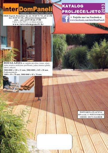 Katalog proljeće-ljeto 2013