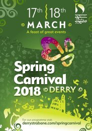 Derry Spring Carnival 2018