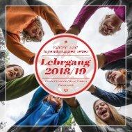 Folder Kinder- und Jugendgruppen leiten Lehrgang 2018