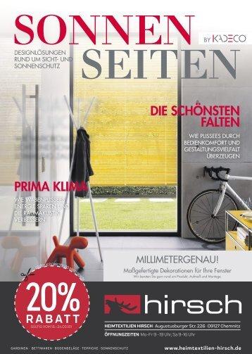 Heimtextilien Hirsch - 16.03.2018